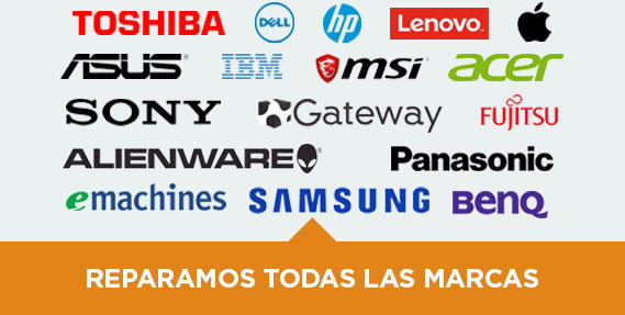 Reparacion Computadoras Toshiba HP Dell Apple Lenovo Asus Costa Rica Heredia