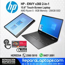 HP Repuestos Partes Laptops Costa Rica HP ENVY x360 2en1 15.6
