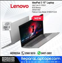 Lenovo Repuestos Partes Laptops Costa Rica Lenovo - IdeaPad 3 15
