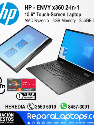 Repuestos Partes Laptops Costa Rica HP ENVY x360 2en1 15.6
