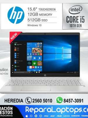 Repuestos Partes Laptops Costa Rica HP Pavilion 15.6