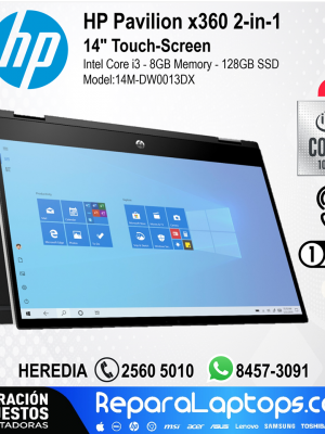 Repuestos Partes Laptops Costa Rica HP - Pavilion x360 2-in-1 14