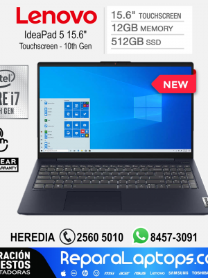 Repuestos Partes Laptops Costa Rica Lenovo IdeaPad 5 15.6